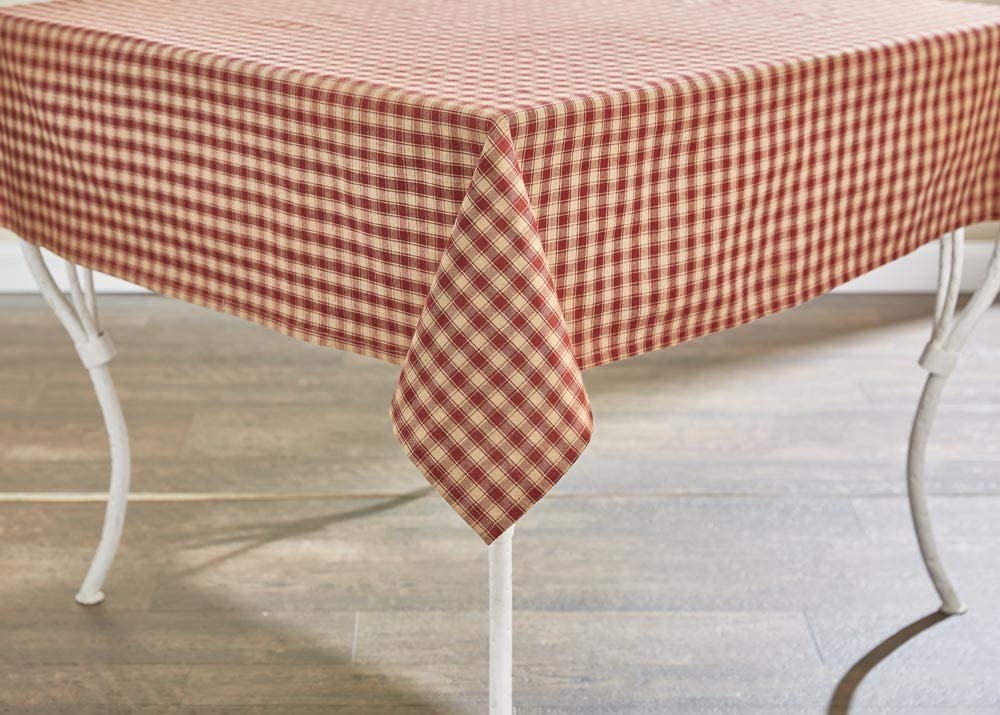"Park Designs Town and Country Wine Tablecloth 60"" x 84"""