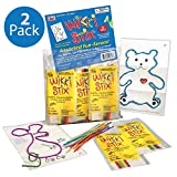 Wikki Stix Fun Favors - 2 Assorted Packs of 50 - 100 Count