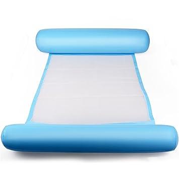 JYCRA Hamaca de agua, hamaca de piscina, hamaca inflable para inflar la piscina,
