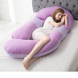 Pregnancy Pillow/Waist Side Sleeping Pillow/u-Shaped Pillow/Multifunctional Sleeping Pillow/Sleeping Pillow on The Side/Pregnancy Pillow-M 170x80cm(67x31inch) PSIDEGCBSD