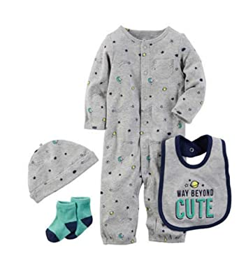 4b1bbef25 Image Unavailable. Image not available for. Color: Carters Preemie Baby Boy  Clothes ...