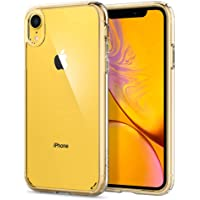 Spigen Ultra Hybrid with Air Cushion Technology and Hybrid Drop Protection Designed for Apple iPhone XR Case (2018) - Crystal Clear