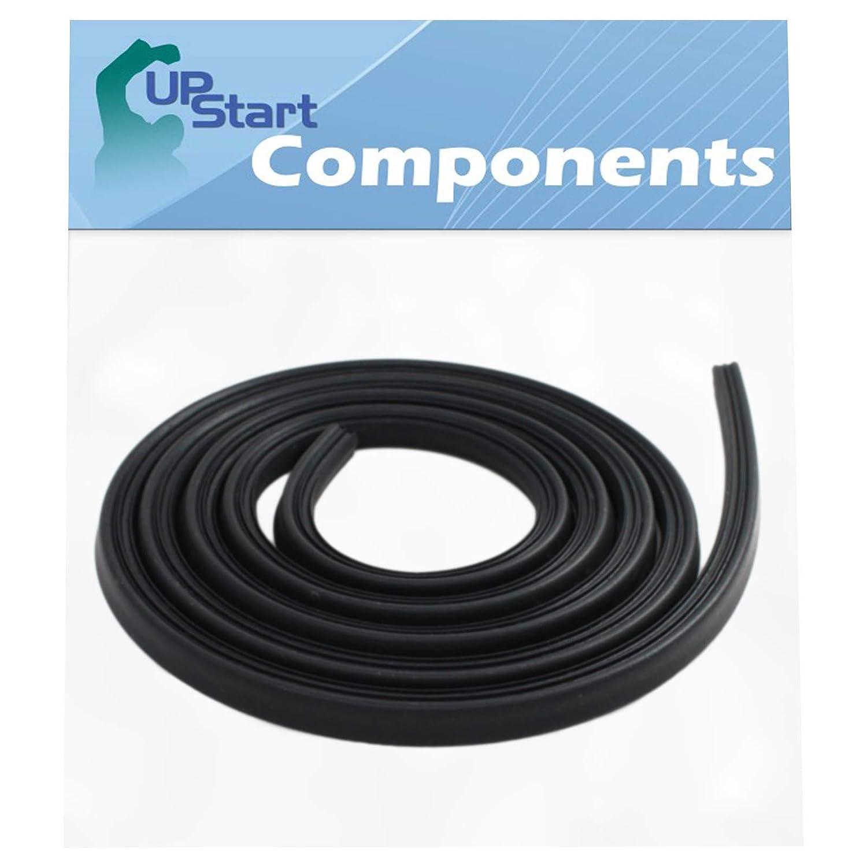 Compatible with WPW10509257 Door Gasket W10509257 Dishwasher Door Gasket Replacement for Kenmore//Sears 665.16003400