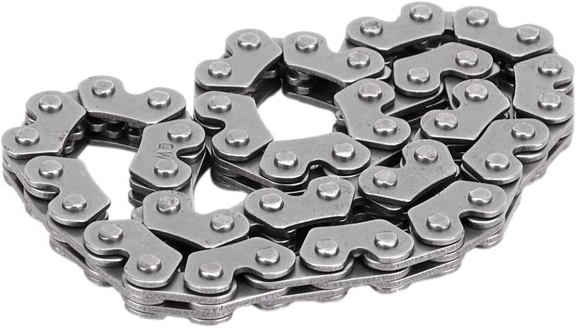 Durable High Strength Oil Pump Link Chain for GY6 150cc Scooter Qii lu Metal Material Link Chain