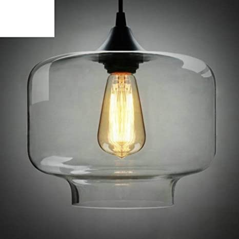 lámpara minimalista/Solo vidrio lámparas/araña de tarro del ...