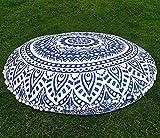 Gokul Handloom Indian Large Mandala Floor Pillow