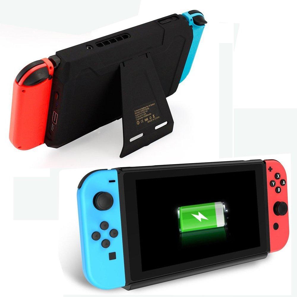 Bateria Externa Para Nintendo Switch 2018 10000mah (xam)
