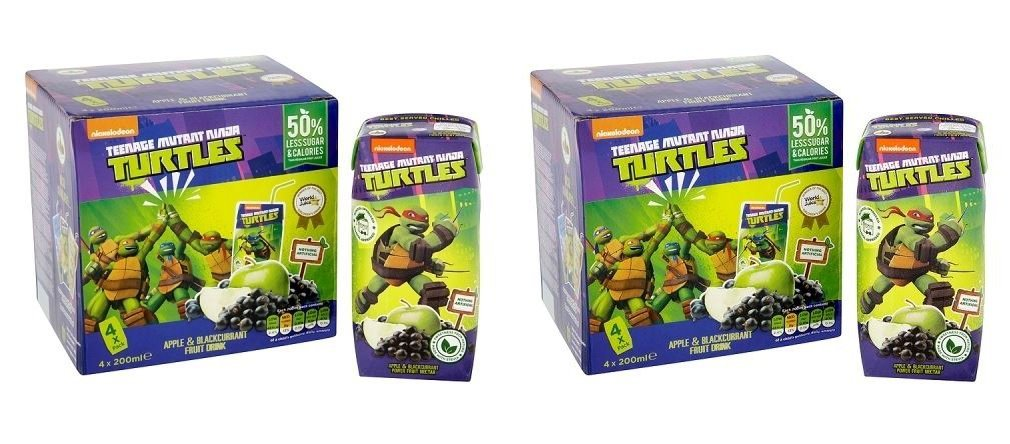 Amazon.com: (2 PACK) - Appy Teenage Mutant Ninja Natural ...