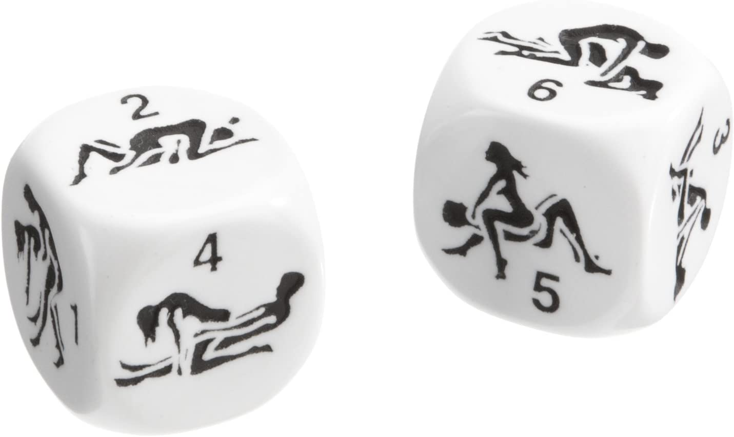 Kama Sutra Dice Single Wooden Game