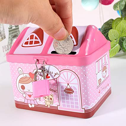 BS-piggy bank-3 - Caja para Guardar Monedas y Monedas, diseño de ...