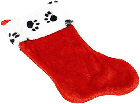 Flomo {Nygala Corp} Plush Paw Print Stocking