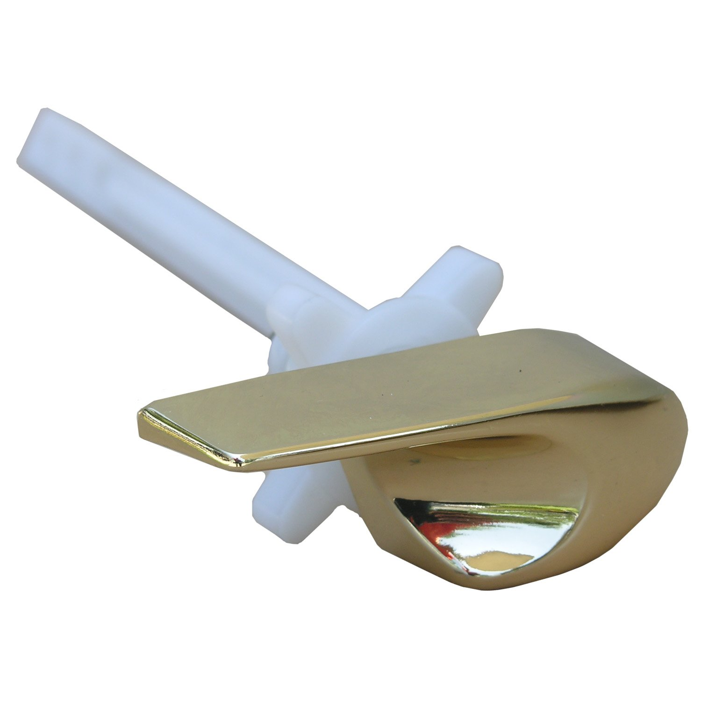 Simpatico 41803P Kohler, Side Mount Toilet Flush Lever, Polished Brass