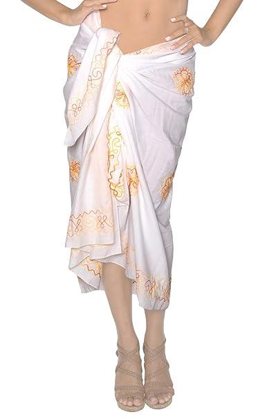Amazon.com: Pareo Traje de baño pareo Wrap Bikini Cover Up ...