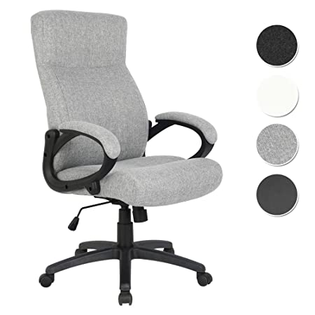 Office Swivel Chair Grey Fabric   HLC 0311 1/2167