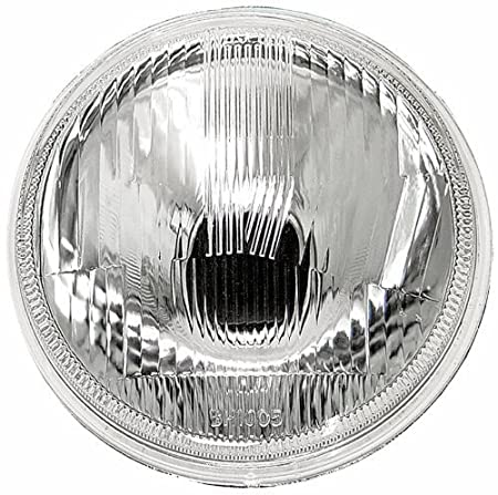 IPCW CWC-7006 7' Plain Round Glass H4 Conversion Headlights H6017 or H6024-2 Pack