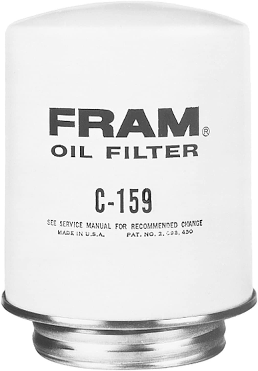 Amazon.com: Fram C159 HD spin-on By-Pass Filtro de aceite ...