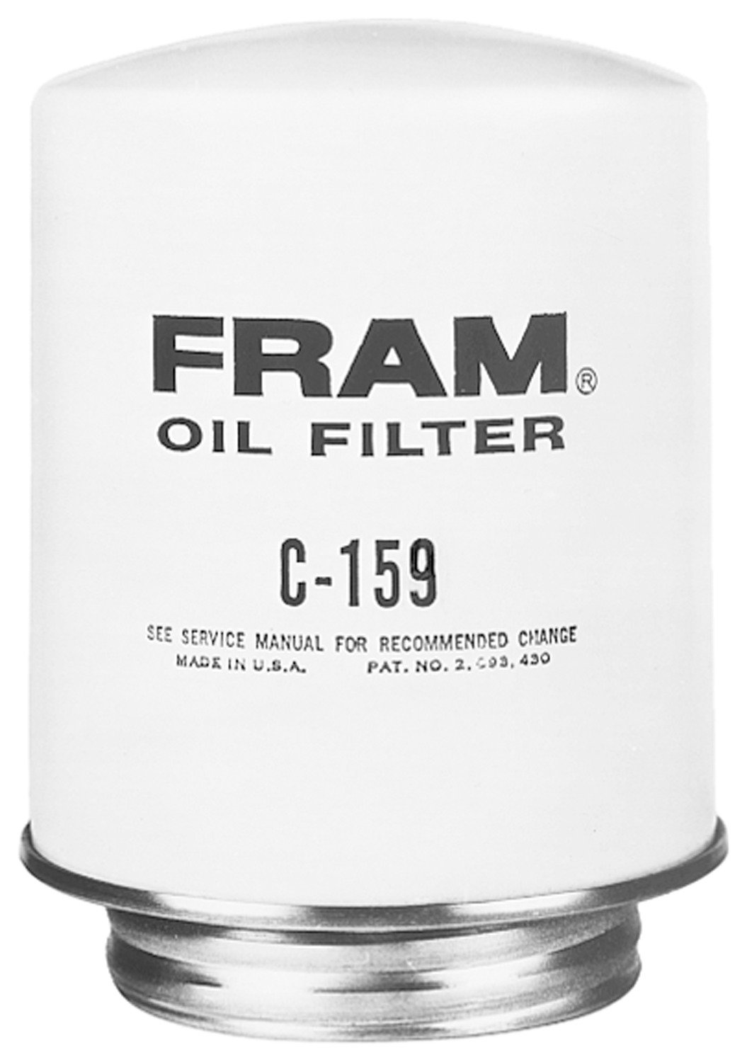 FRAM C159 Heavy Duty Oil and Fuel Filter