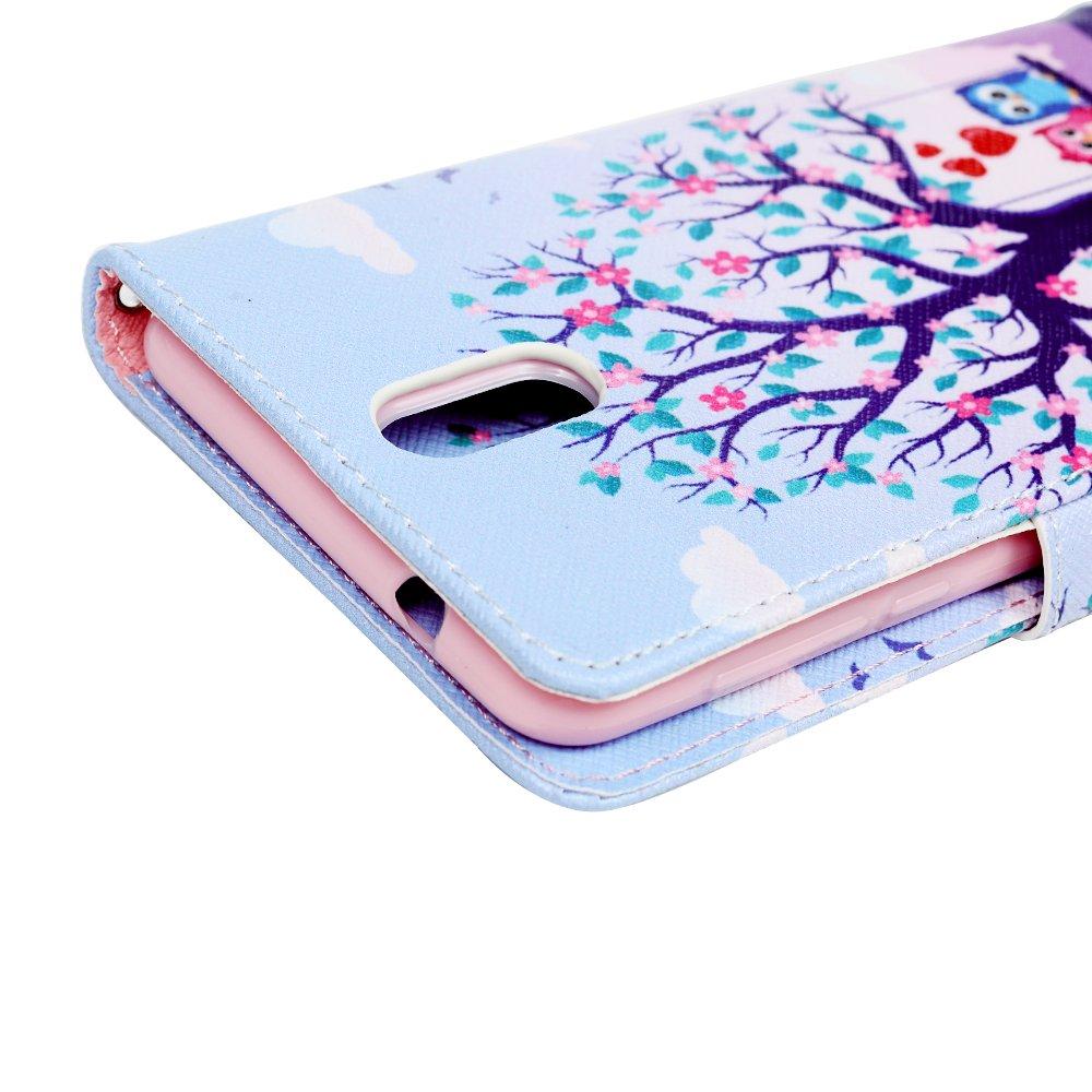 Mixpring Coque Nokia 3.1 2018 Cute Mignon Imprim/é Housse en Cuir PU Premium Flip Case Portefeuille Etui Coque pour Nokia 3.1 2018 Couple Hibou AOE-215-661-70-X