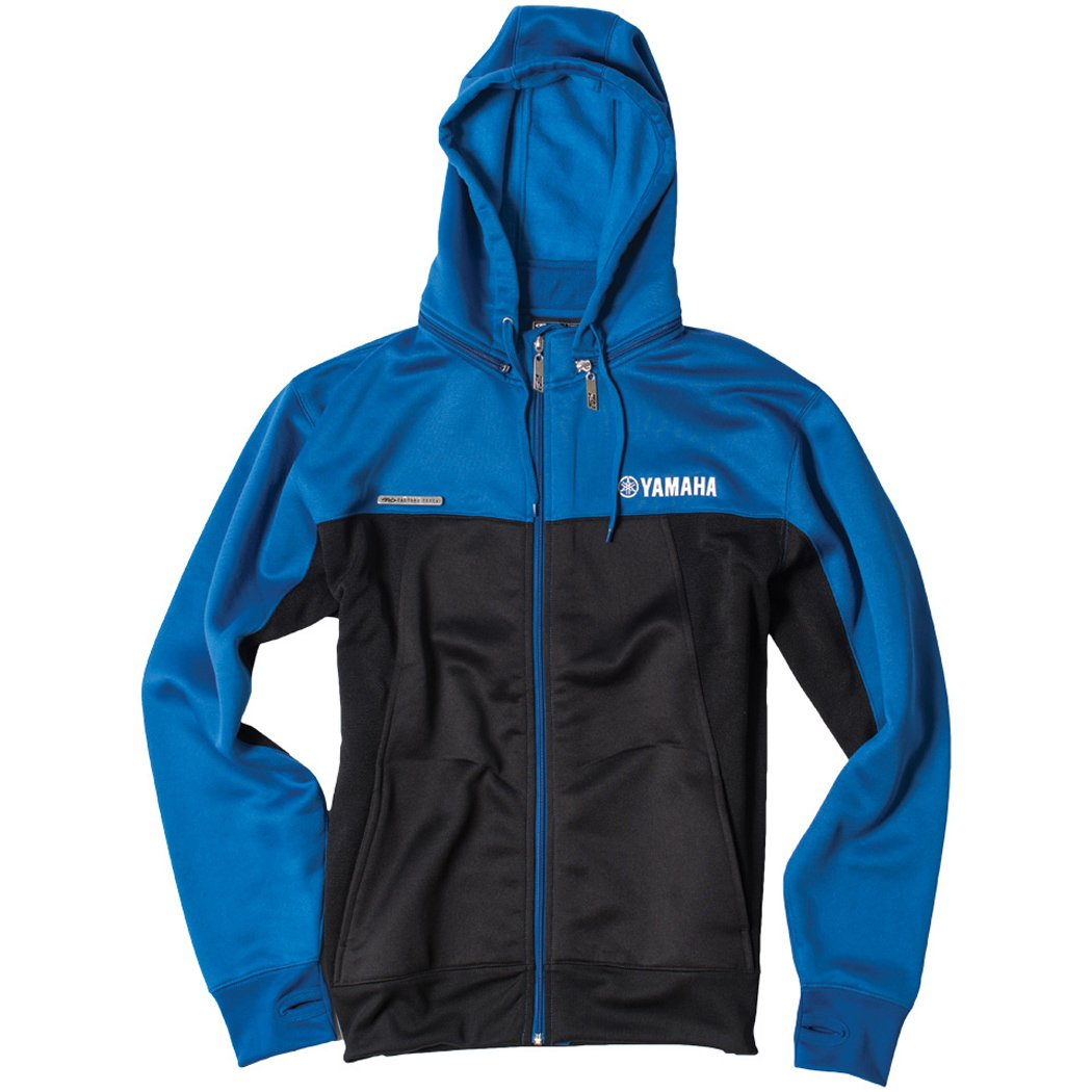 Factory Effex - Factory Effex Hoody - Yamaha Tracker - Blue/Black - Medium