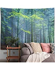PROCIDA Tapestry Wall Hanging Nature Art Polyester Fabric Tree Theme, Wall Decor for Dorm Room, Bedroom, Living Room, Nail Included