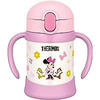 (跨境自营)(包税) THERMOS 膳魔师 婴儿吸管保温保冷杯FHV-250 250毫升 米妮宽