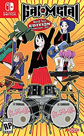 Gal Metal - 'World Tour' Edition - Nintendo Switch