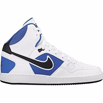 Nike Son Of Force Mid Kids Training Shoes White/Royal/Blue