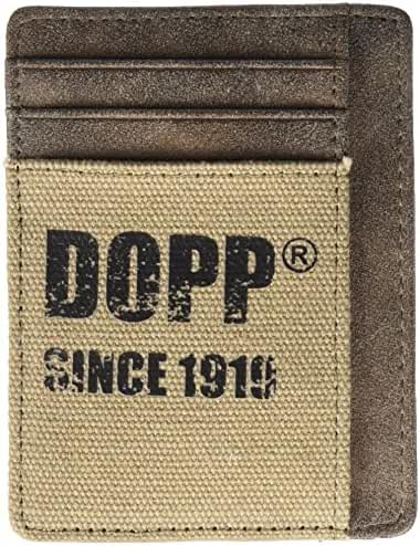 Dopp Men's Legacy Rfid Blocking Front Pocket Get-away Wallet