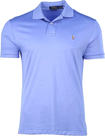 Polo Ralph Lauren Hombre Pima Soft Touch Pony shirt-harbor Isla ...