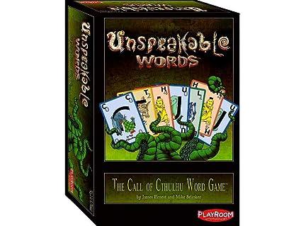 Amazon.com: Unspeakable palabras Juego de cartas: Toys & Games