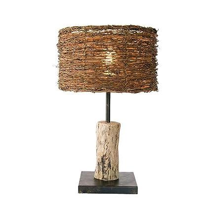 Atmko®Lámpara de escritorio retro vintage lámpara de mesa de ...