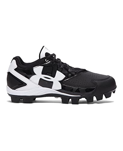 sale retailer 2cb8e 76ab7 Amazon.com   Under Armour New Women s 6 Glyde RM Softball Cleat Black White    Softball   Baseball