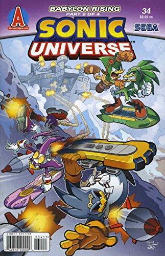 Sonic Universe #34 VF/NM ; Archie comic book