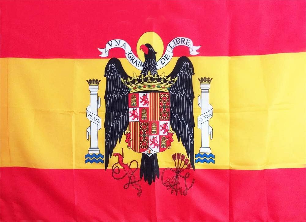 LPG - Bandera de ESPAÑA Escudo Aguila DE San Juan: Amazon.es: Jardín