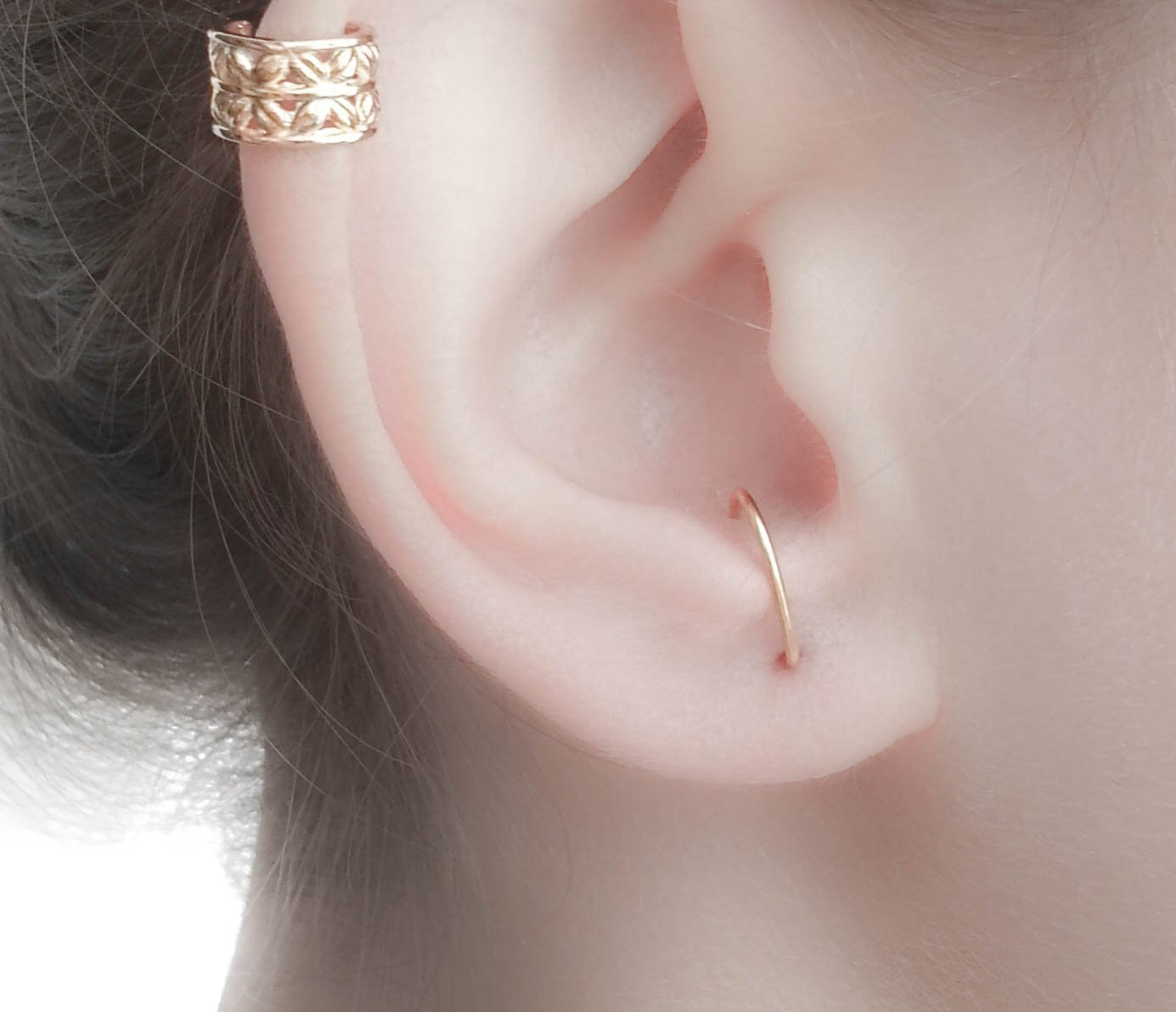 Suspender Earring Silver Suspender Earring Gold Hook Earring-Suspender Hook Earring-Gold Stud Earring-celebrity earrings