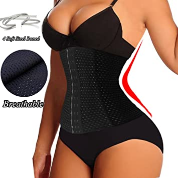 Breathable Waist Trimmer,Waist Firm Compression Postpartum Postnatal Recovery Support Girdle,Tummy Trainer Slimming Belt,Lose Weight Abdomen