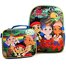 Jake and the Never Land Pirates Backpack and Lunch Bag Combo