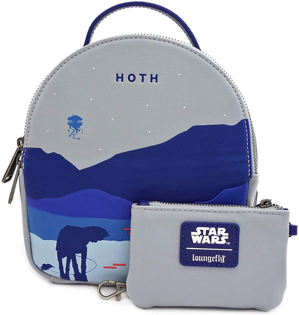 Loungefly x Star Wars Hoth Convertible Backpack Set