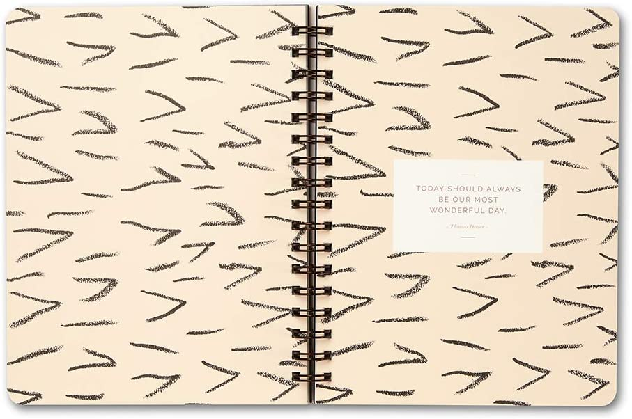 Wire-o Notebook by Compendium Good Things Start Here /— 192 lined pages