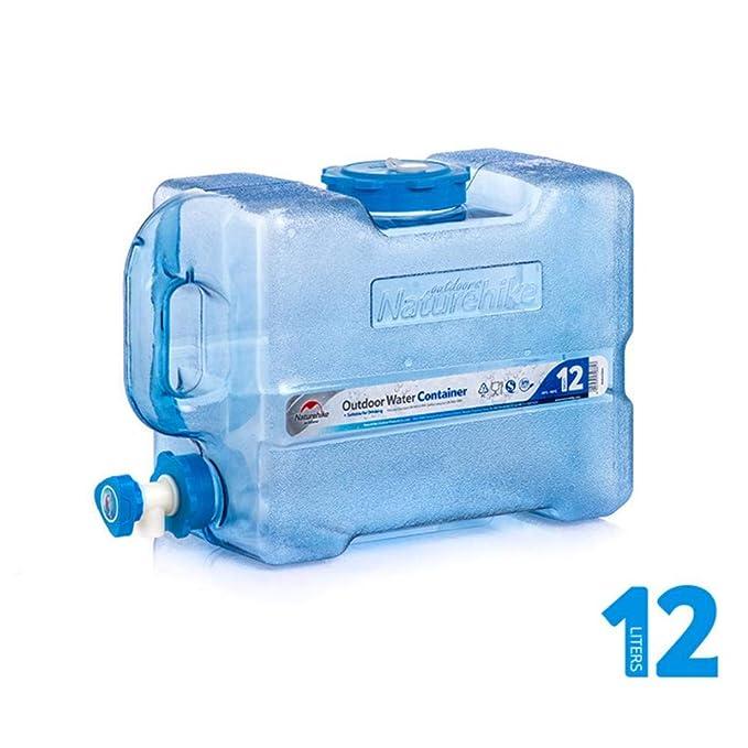 332 Page ANN Agua Bidón Agua Potable dispensador de Agua portátil con Grifo/caño de Agua para Auto, al Aire Libre, Camping , 12/19L, Color a, ...