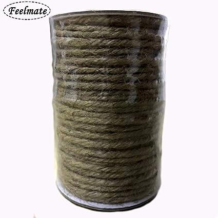 3 328 piedi Naturale iuta Spago Migliori Arte Artigianato Regalo di natale Spago Spago industriale Imballaggio Materiali resistente filo per giardinaggio applicazioni