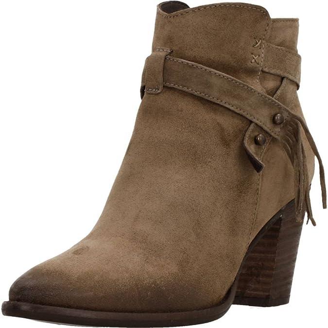 Alpe 34521163 - Botines Mujer Marrón Talla 39: Amazon.es: Zapatos y complementos