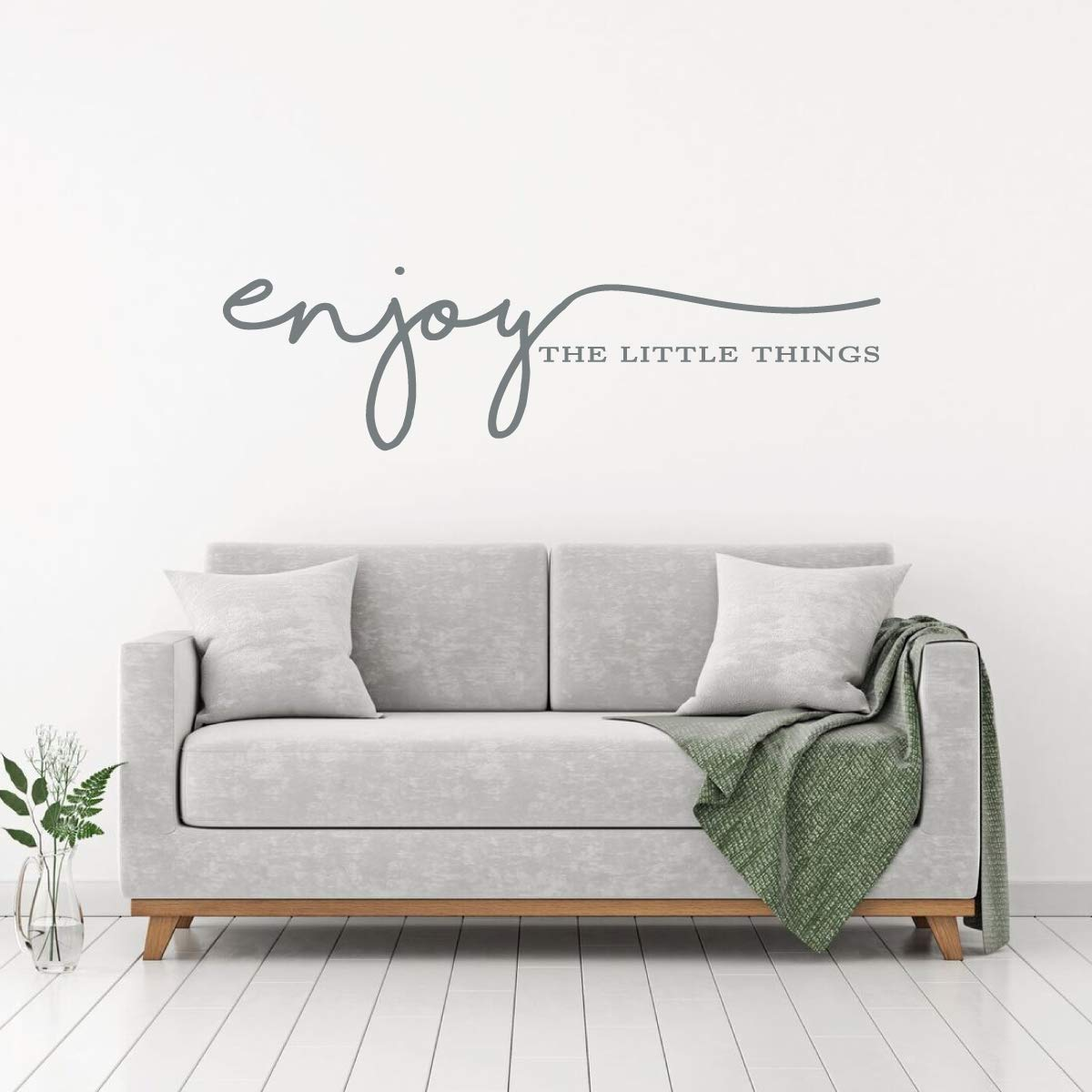 Amazon.com: Wall Decal Quotes – Enjoy The Little Things ...