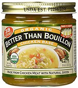 Better Than Bouillon, Organic Chicken Base, 8 oz
