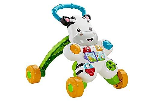 Fisher-Price Infant - Cebra parlanchina, Primeros Pasos (Mattel DLD96) (versión en francés)