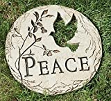 Roman 12″ Dove Bird Cut-Out Peace Decorative Garden Patio Stepping Stone