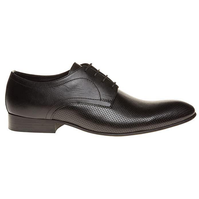 Base London Mens Black Leather 'Statement' Derby Shoes from Debenhams:  Amazon.co.uk: Shoes & Bags