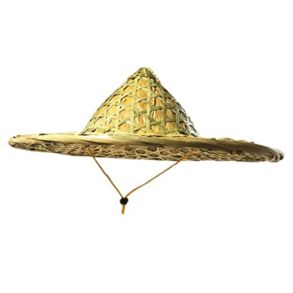24aaecda Amazon.com : Sunny Hill Chinese Traditional Bamboo Hat Natural Hand ...