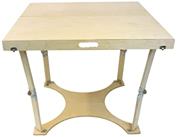 Amazoncom Spiderlegs Folding Dining Table 36Inch Natural