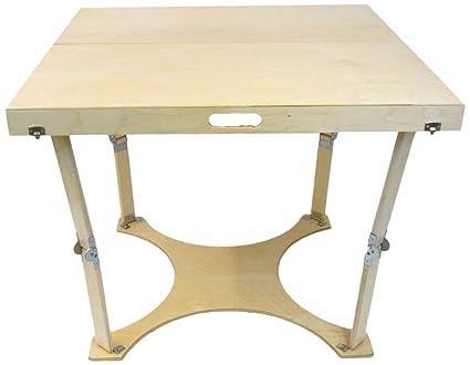 Amazon spiderlegs folding dining table 36 inch natural birch spiderlegs folding dining table 36 inch natural birch workwithnaturefo